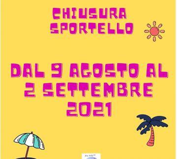 Chiusura Sportello OLA